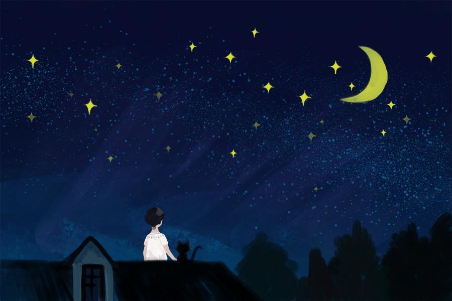 晚安发朋友圈的优美语句